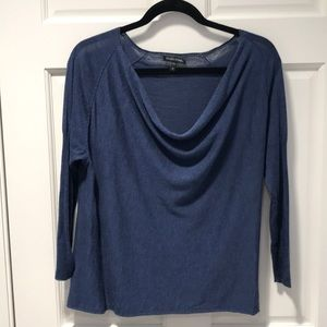 Eileen Fisher Summer Weight Sweater. Blue. Size M.